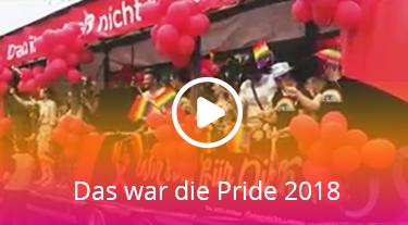 Das war die Pride 2018